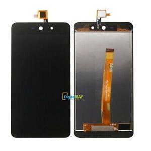 Lcd Screen Touch Display Schermo Vetro Flex Cable Nero Per Wiko Rainbow Up 4G