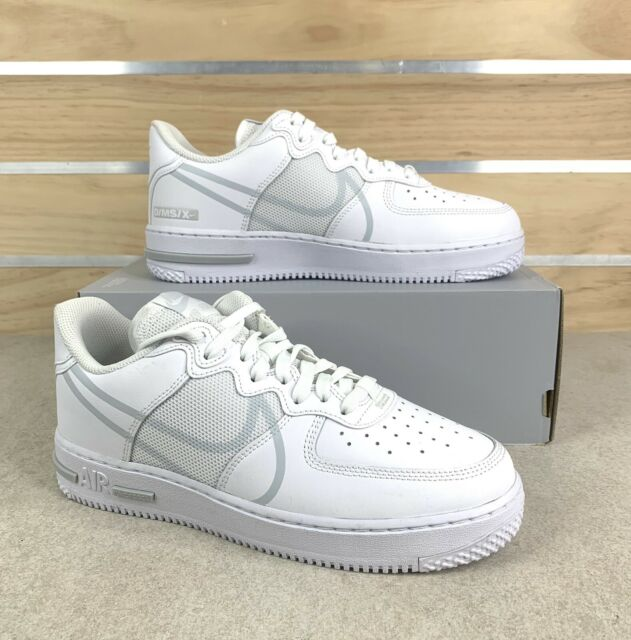 Size 10 - Nike Air Force 1 React White - CT1020-101