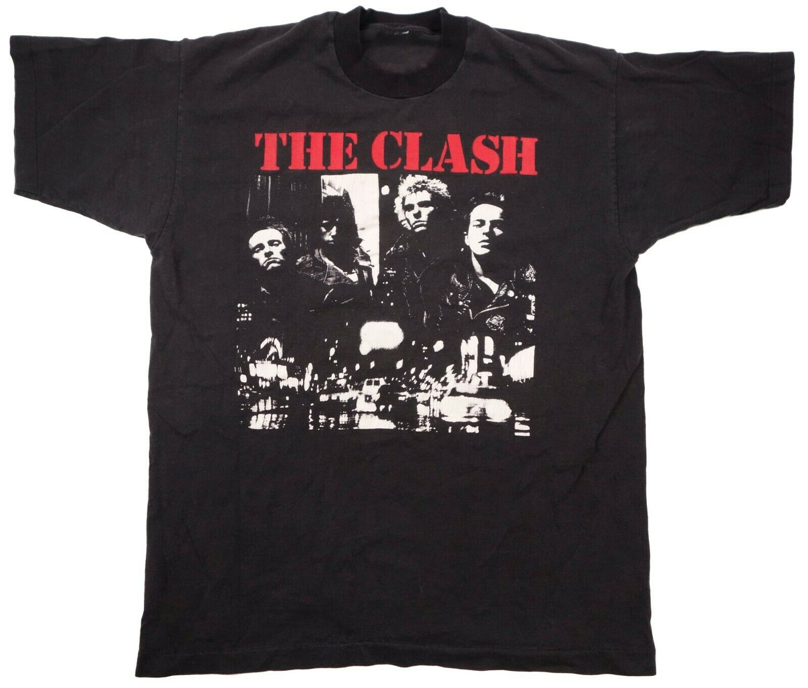 THE CLASH the only band that matters vintage t sh… - image 1