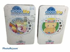 Moonlite storybook projector Where is Babys Belly Button /& The Ugly Duckling
