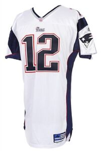 the latest 427cc b1c67 Details about Tom Brady 2001 Game Worn New England Patriots Jersey Mears A5  COA 1ST STARTS!