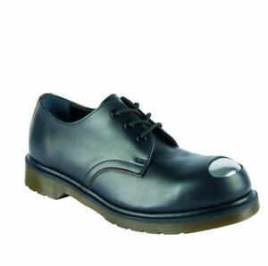 76d4cb10e43 Details about Dr Martens 3-hole Petri Black Steel Toe Cap 16776001 Original  Classic Doc