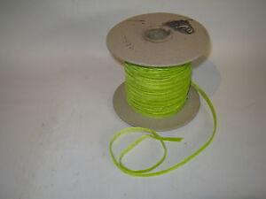 Samtband-Band-Borte-Verzierung-Farbe-lindgruen-5-mm-Breite-Gruen