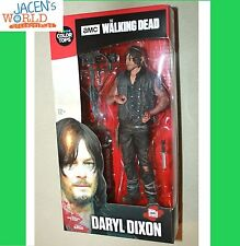 """DARYL DIXON COLOR TOPS MCFARLANE RED WAVE #6 WALKING DEAD ACTION FIGURE 7"""""""