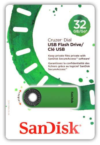 MIX 32G 4x SanDisk SDCZ57-032G Cruzer Dial 32GB USB Flash Drive 32 GB