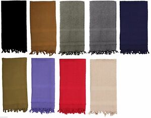 Solid-Color-Shemagh-Lightweight-Arab-Tactical-Desert-Scarf-Rothco-8637