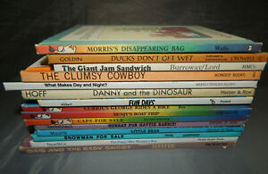 15-kids-picture-books-ODD-TITLES-weekly-reader-club-i-can-read-vintage-lot-80s