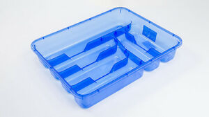 Transparent-5-or-6-compartments-Cutlery-Tray-Box-Insert-Cabinet-Kitchen-Drawer