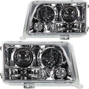 Juego-FAROS-frase-cristal-claro-cromo-de-luz-mercedes-w124-ano-93-97-Facelift