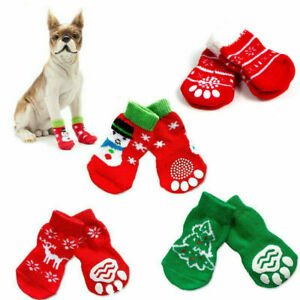 Dog-Christmas-Socks-Pet-Dog-Doggy-Shoes-Cute-Wild-Warm-Knitted-Socks-Clothes