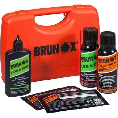 Brunox® Waffenpflegebox Jäger Schützen Waffenpflege-Set NEU