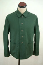 TAILORED WWII German Summer HBT reed green Drill service tunic