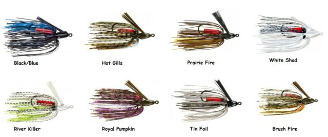 Strike King Swinging Swim Jig Choice of Colors and Sizes