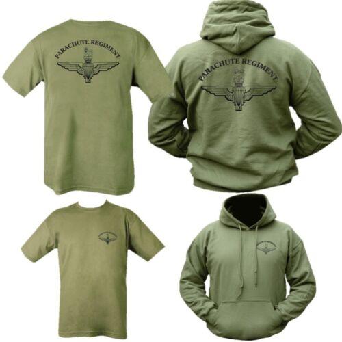 leger T Hoodie Heren S Regiment Paras Geschenkverpakking 2xl Brits shirt Parachute Para zqExHtAawa