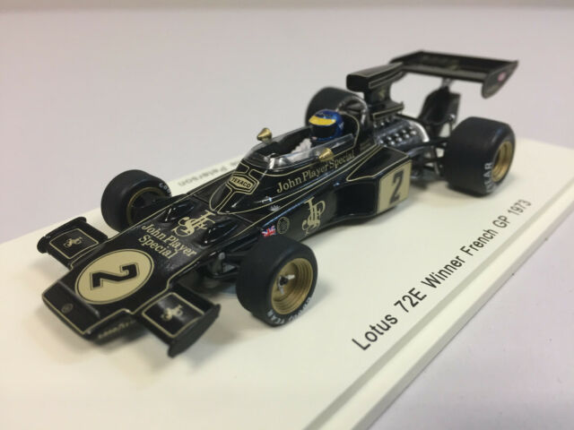 Spark F1 Lotus 72E n°2 1973 R. Peterson 1/43 S7128