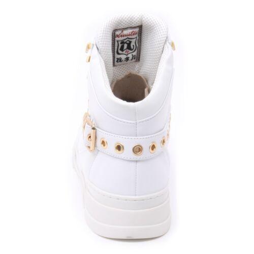 Ash Bis Bianca Sneaker Donna Woman Alta B3857 Shoe Scarpa Flash ZxvEwqpq