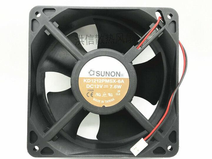 1PC SUNON 12038 KD1212PMSX-6A DC12V 7.6W 120*38MM Cooling Fan