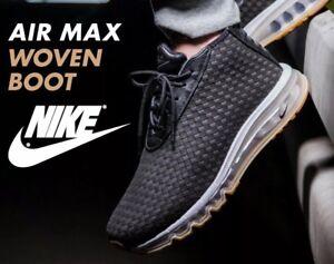 Schwarz Woven Nwt Max 12 Sneakerboots 921854 Boot Air Nike Sz Nikelab 003 FHXrWdXq