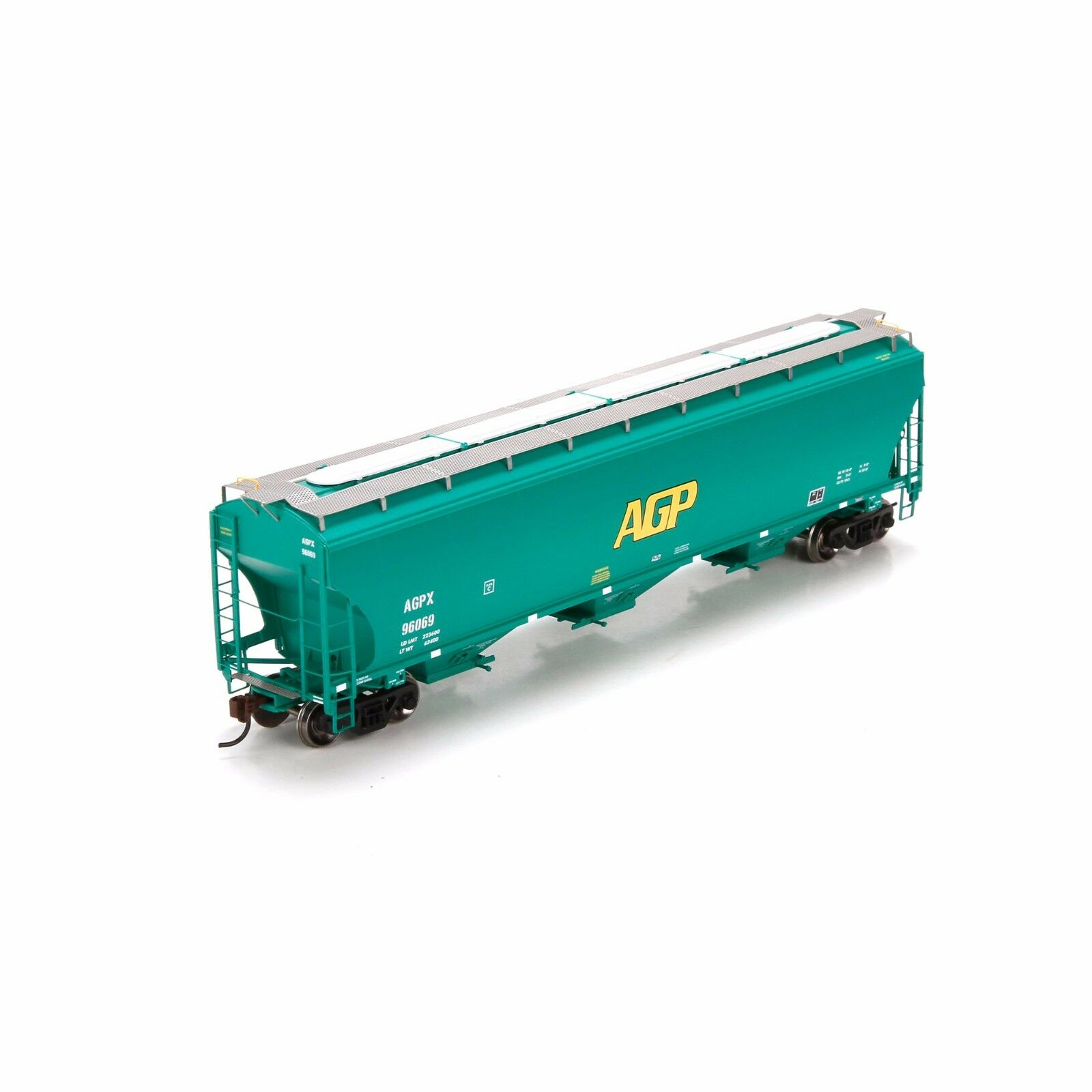 Athearn BAY COVERED HOPPER, AG Processing HO MIB