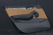 org BMW X1 E84 Türverkleidung Tür Verkleidung vorne links VL Leder magmabraun