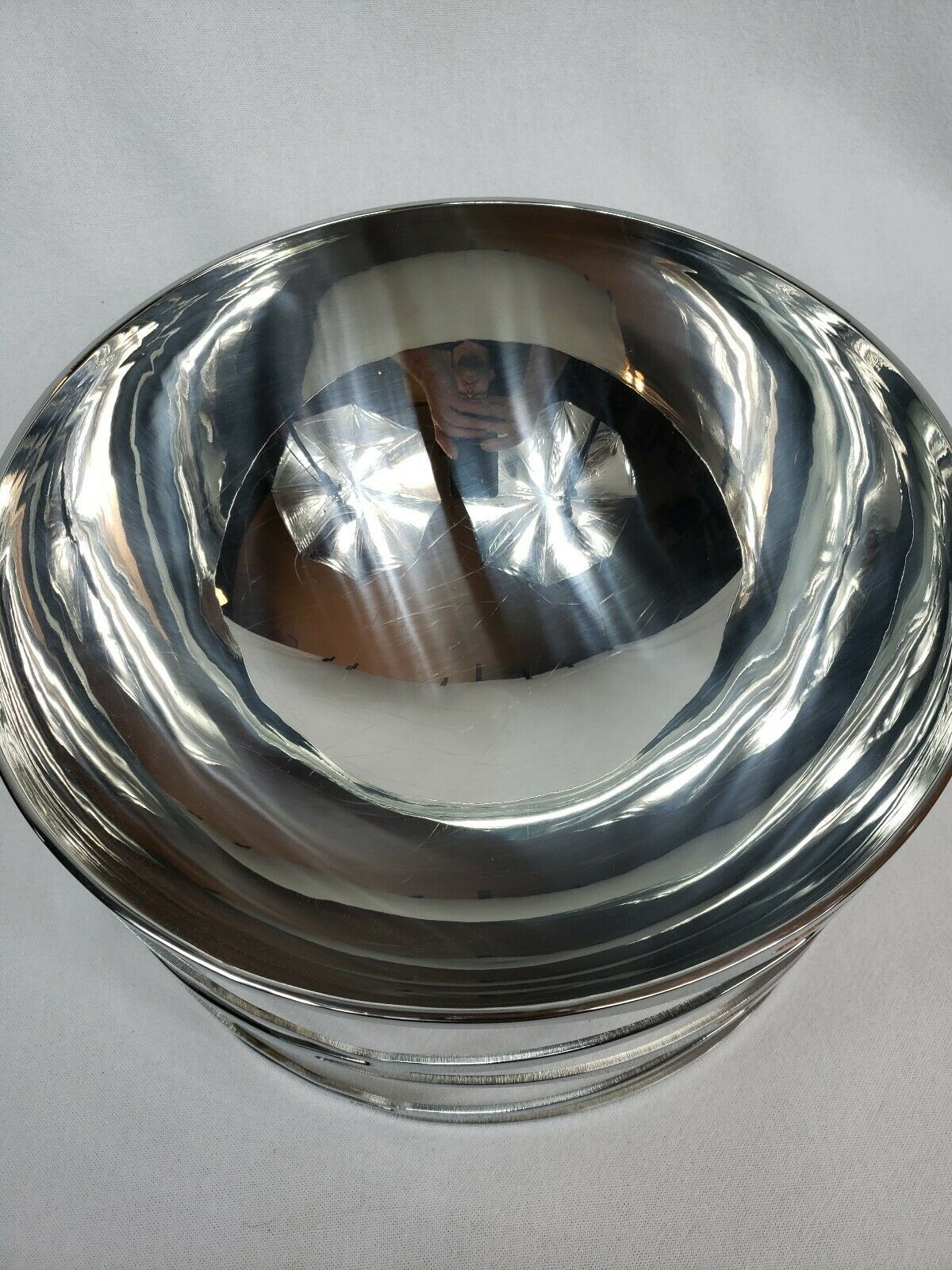STUNNING RIVA TRAMA COLLECTION COLLECTION COLLECTION SALAD BOWL 10 1 2  RARE JACQELINE TERPINS a5500f