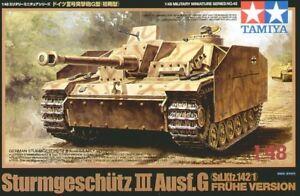TAMIYA-1-48-STURMGESCHUTZ-III-ausf-G-sd-kfz-142-1-fruhe-Version-32540