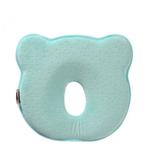Baby Infant Soft Pillow Memory Foam Positioner Prevent Flat Head Anti Roll LS