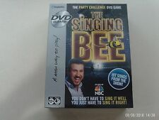 The Singing Bee The Party Challenge DVD Game – New Sealed Package