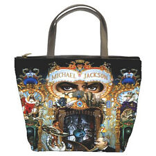 Michael Jackson Dangerous Bucket Bag/Purse/Handbag (2  Side)-NEW