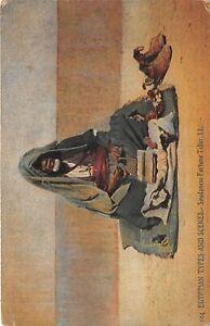 POSTCARD-EGYPT-ETHNIC-SUDAN-Fortune-Teller-LL-104