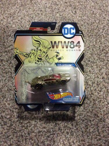 WONDER WOMAN WW84 FYV64 1st Hot Wheels DC Comics Character Cars THE CHEETAH