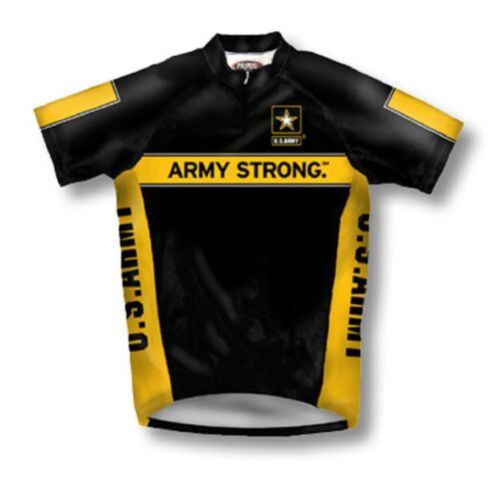 Primal Wear US Army Strong Cycling Mens Jersey Bike Military New Small