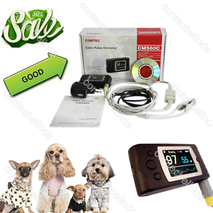 CE FDA Blood Oxygen Spo2 Monitor CMS60C,Vet Veterinary Use CONTEC,PC Software
