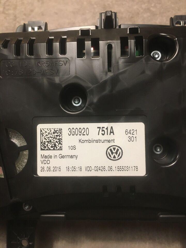 Elektriske Dele, Speedometer, VW Passat