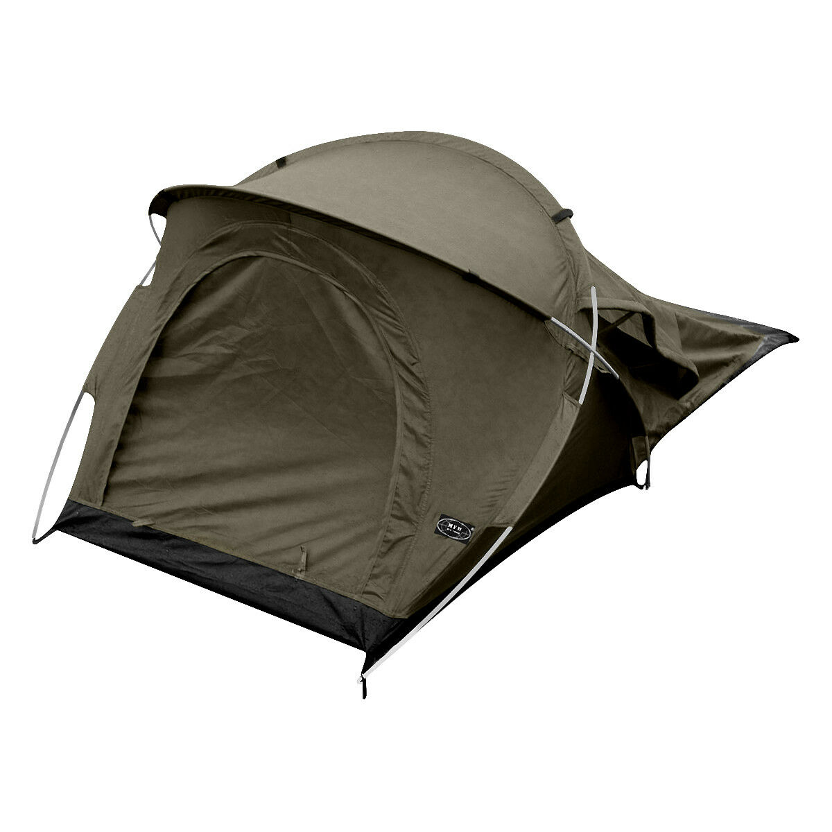 MFH Tent Osser Aluminium Frame Army Festivals Outdoor Walking 1 Person OD Green