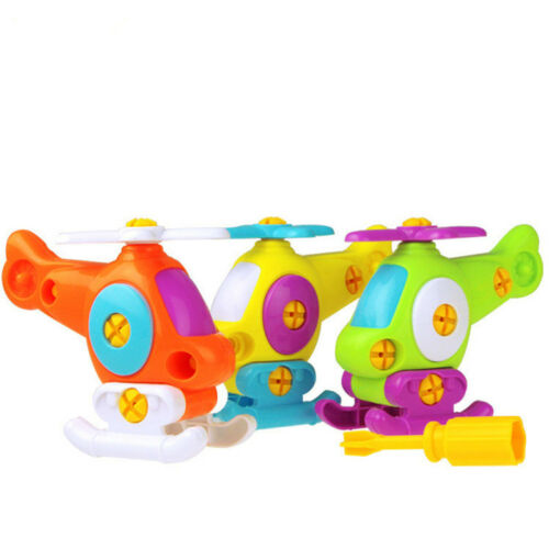 Kid Puzzle Educational Toys Airplane Disassembly Assembly Cartoon Toy AircraftSK