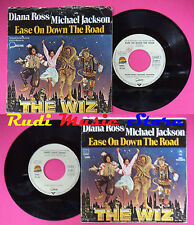LP 45 7'' DIANA ROSS MICHAEL JACKSON Ease on down the road Poppy no cd mc dvd