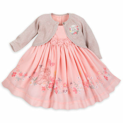 Disney Bambi Miss Bunny Dress Set for Baby Sizes 6-18 Months brand new with tags