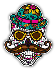 Hipster Skull Funny Hipster stickers Window Truck Car Vinyl Bumper Sticker Decal 5