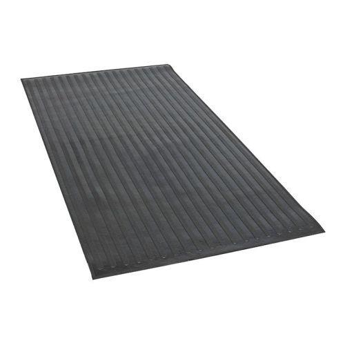 """Dee Zee DZ85005 Black Rubber Utility Bed Mats 96/"""" Length 48/"""" Width"""