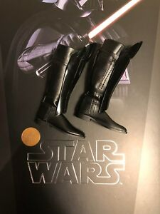 Hot Toys Star Wars ESB Darth Vader MMS452 Black Tall Boots loose 1/6th scale