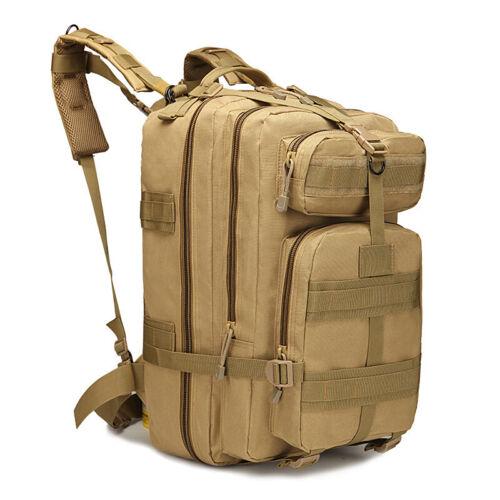 Waterproof 40 L Military Tactical Shoulder Backpack Rucksack Camping Hiking Bag