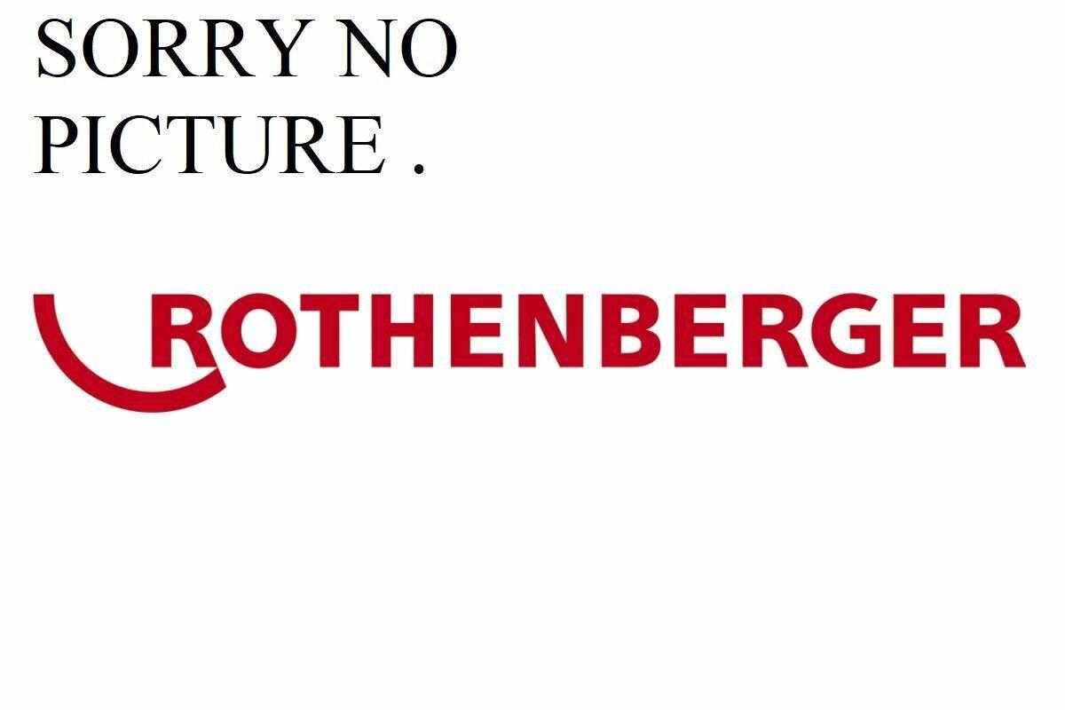 Rothenberger Hose 2m HD + stop valve ROTEST 1500002845