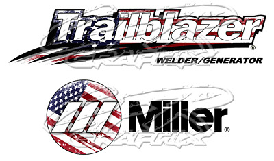 Miller Bobcat or Trailblazer Gasoline Sticker//Decal 4 decals