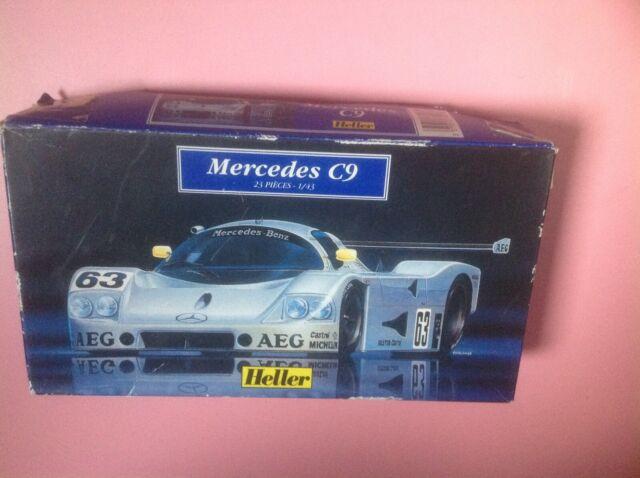 Heller 1/43 Scale Plastic 80107 Mercedes C9  a monter