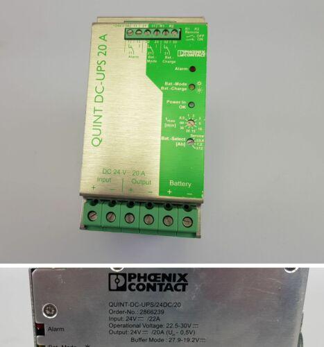 PP7197 Phoenix Contact Quint-DC-UPS//24DC//20 2866239