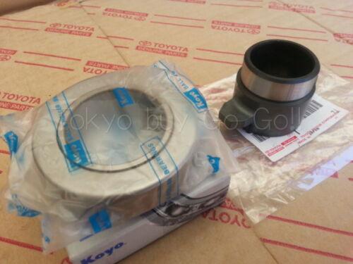 Corolla Coupe AE86 AE71 KOYO Clutch Release Bearing /& Hub set NEW OEM Parts