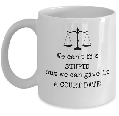 Lawyer office funny gifts Law student Details about  /Will give legal advice for coffee mug