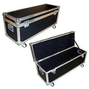 drum hardware stands ata case 3 8 w wheels small size ebay. Black Bedroom Furniture Sets. Home Design Ideas