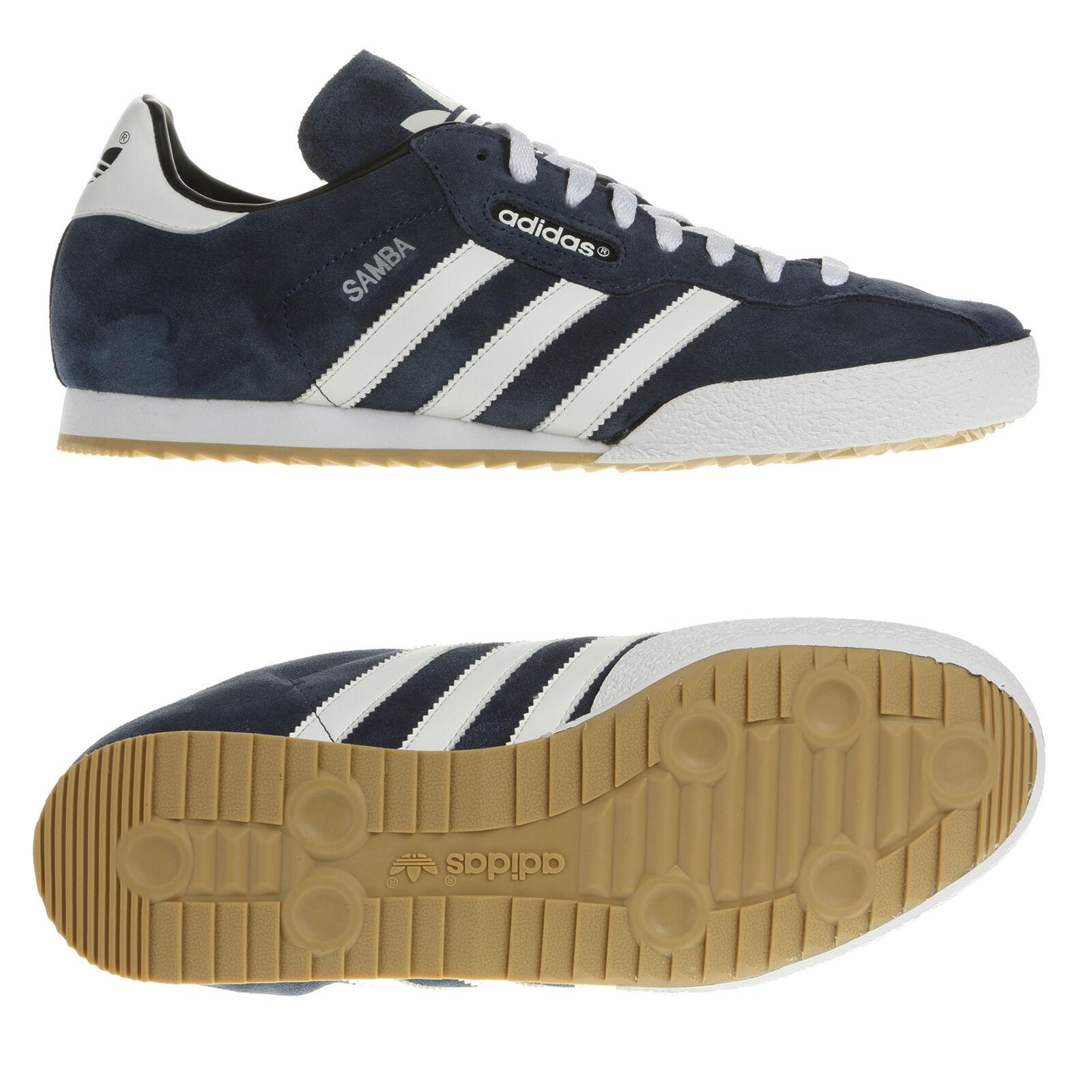 Adidas Originale Mens Samba Veloursleder Größe 7 8 8.5 9 10 11 12 Turnschuhe